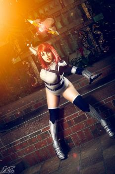 Erza Knightwalker Cosplay from Fairy Tail by dertuli-audrey