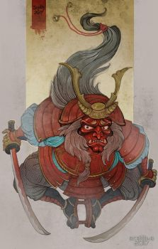 Oni by Sceith-A