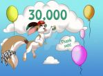 30,000 by MoscoMoon