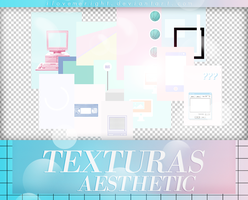 +PACK TEXTURAS: Aesthetic | free by iLoveMeRight