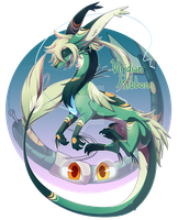 [CLOSED] Heart Lure OTA: Viridian Ribbon by dracooties