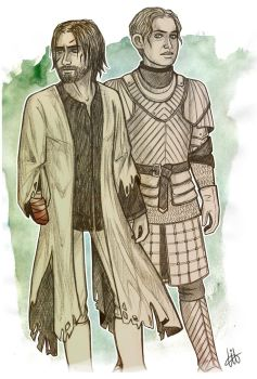 Jaime and Brienne by lilis-gallery