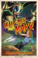 Wasp-Men From Mars by CValenzuela