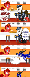 ART TRADE: Stand-Up for a Pratfall, Part 1 by JasperPie