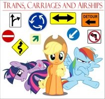 Trains, Carriages and Airships eReader by jlryan