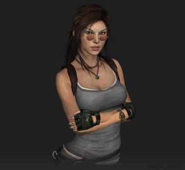 Lara Croft Classic - 2014 by Pedro-Croft