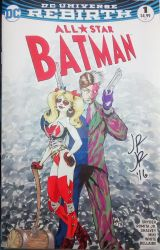 Harley Two-Face Sketch Cover Commission