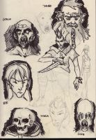 Some more sketches by HaluzCZ