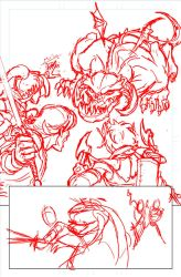 Good Intentions - page 8 roughs by genekelly