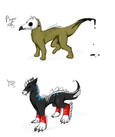 [CLOSED SPECIES] Punishers by royalraptors