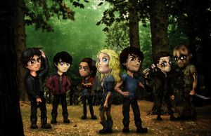 The 100 by Samy110