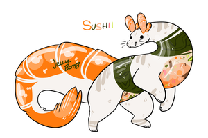 {AUCTION} SUSHII {OPEN} by CANDY-BEE
