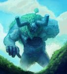 Ancient Golem ~ Faeria by saint-max