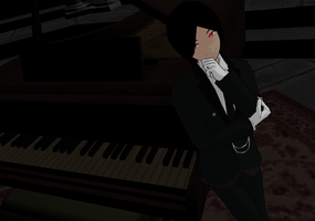 MMD: One Hell of a Butler by The-Blue-Deviant-Fox