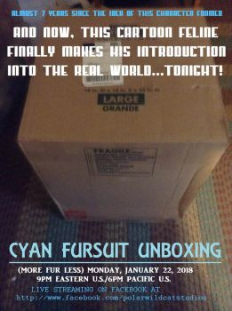 LIVE FURSUIT UNBOXING - Tonight at 9PM Eastern by PolarWildcatStudios