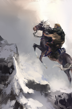 Up The Mountain We Goo by Zephyriee