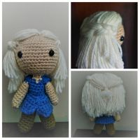 Mini Crochet Daenerys from Game of Thrones! by jenny3793