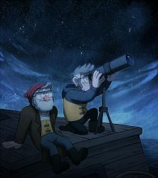Stargazing (Collab) by Demona-Silverwing