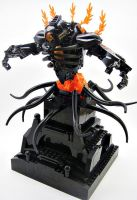 Bionicle MOC: Deity of the Temple by LordObliviontheGreat