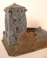 Dwarf Watchtower by clevella