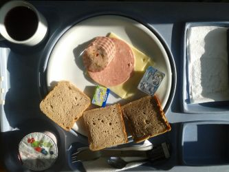 my real or unreal evening meal at german hospital by mariekoutnever