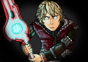 I Can Change the Future! (Xenoblade Chronicles) by FelipeFlame