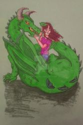 Kana and The Dragon by Twirate