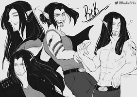 {C}ommission Sketchpage for alwaysforeverhailey by Rautic