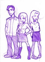 Buffy animated - scketch by TakuSalvemini