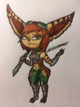 Freya, The Blade Scout by Tiera-The-Yordle