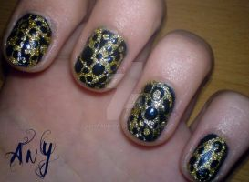 Abstract Nail Design by AnyRainbow