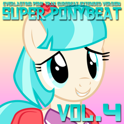 Super Ponybeat Vol. 4 Album Art - Coco Pommel by DashieMLPFiM
