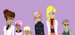 SCP: Oc Lineup by TheRestlessWanderer