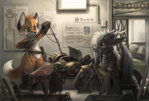 Commission for Yuumei by Silverfox5213
