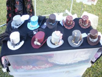 Hats from Sanguine Threads by racheldesade