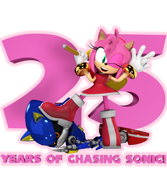 Amy 25! by Spinosaurusking875