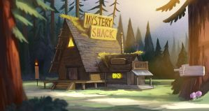 Mystery Shack by DanteCyberMan