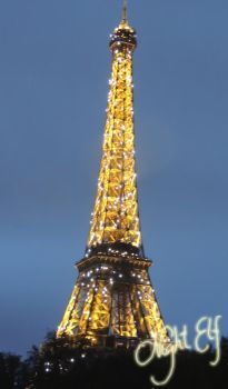 Eiffel Tower by Nic1ky