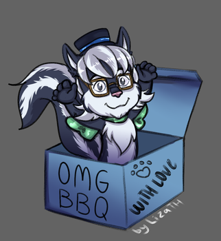 OMG BBQ by lizathehedgehog