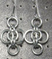Chainmaille Earring 60 by Des804