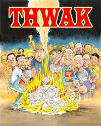 THWAK TPB cover by ATLbladerunner