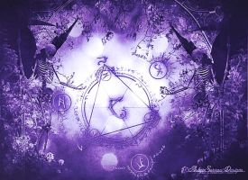 Conjuration I by AshlieNelson