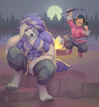 Train and Get Trained!! by RunWolfmanRun