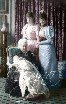 Queen Victoria 4 Generations by BooBooGBs