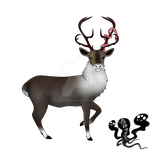 Lost Reindeer {Advent Adopt} by SoulsofTheDoomed