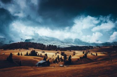 Surreal Seiser Alm by HendrikMandla