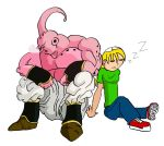 Kylee and Buu - napping by BigJohnnyCool