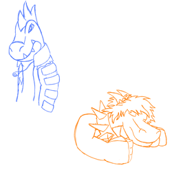 A very small sketch dump by Dragondestruction