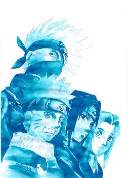 Team-Kakashi by deidara1444