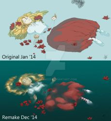 Wendy Ophelia Comparison by psycho23